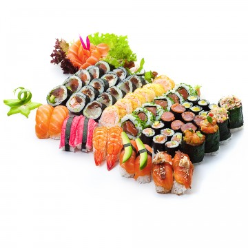 Zestaw Tokyo 62 szt. + małe sashimi